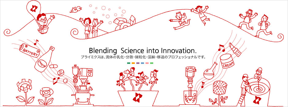 Blending Science into Innovation.